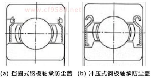 轴承防尘盖结构特征